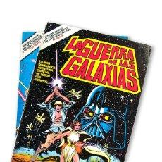 Cine: LA GUERRA DE LAS GALAXIAS - COMIC OFICIAL ( 1ª Y 2ª PARTE ) - 1978. Lote 165438830