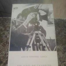 Cine: UN AÑO DE LAURELES Y ESPERANZAS - CARLOS FERNÁNDEZ CUENCA - MADRID, 1965 - CINE ESPAÑOL. Lote 165475518