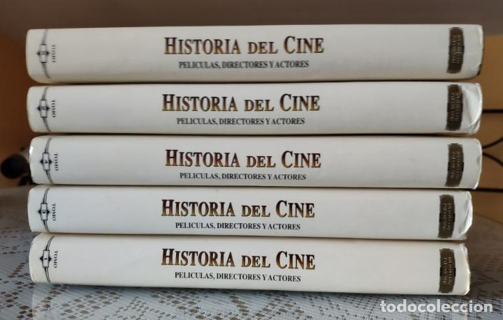 Cine: HISTORIA DEL CINE: PELICULAS, DIRECTORES Y ACTORES (COLECCION COMPLETA) (EUROLIBER, S.A. 1994) - Foto 2 - 166012962