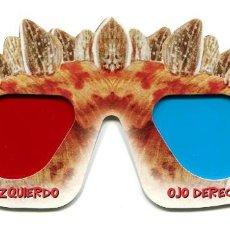 Cinéma: GAFAS 3D. DE DINOSAURO.. Lote 166180294