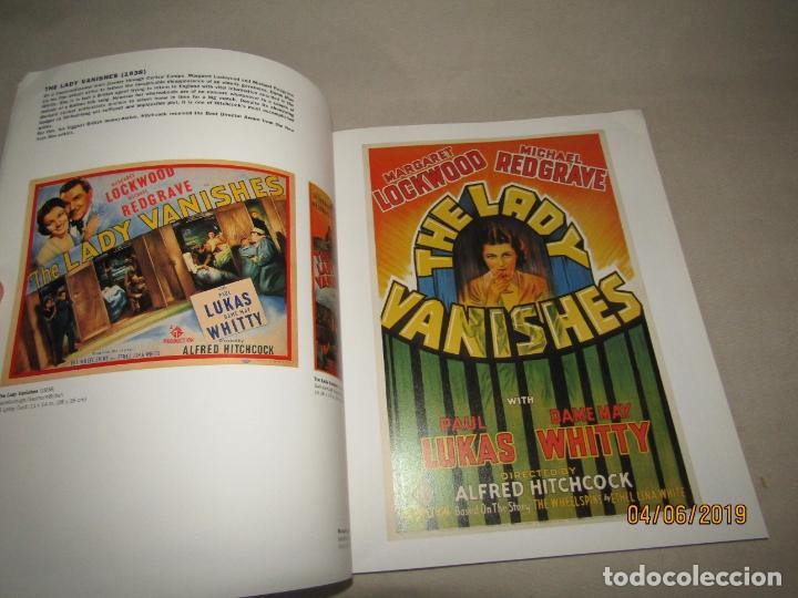 Cine: HITCHCOCK POSTER ART TONY NOURMAND MARK H. WOLFF LIBRO de Carteles de Películas de ALFRED HITCHCOCK - Foto 6 - 166943800