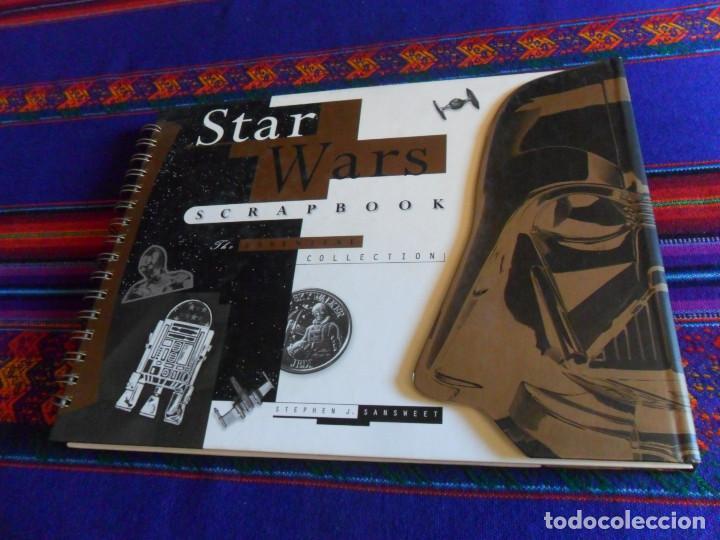 STAR WARS SCRAPBOOK THE ESSENTIAL COLLECTION. VIRGIN 1998. DE LUJO, IMPRESIONANTE. BUEN ESTADO. (Cine - Varios)