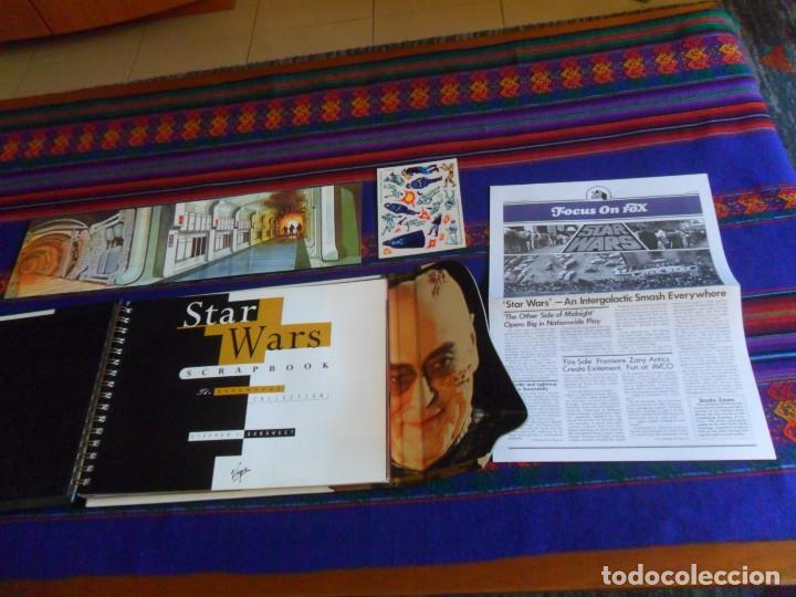 Cine: STAR WARS SCRAPBOOK THE ESSENTIAL COLLECTION. VIRGIN 1998. DE LUJO, IMPRESIONANTE. BUEN ESTADO. - Foto 2 - 167204248
