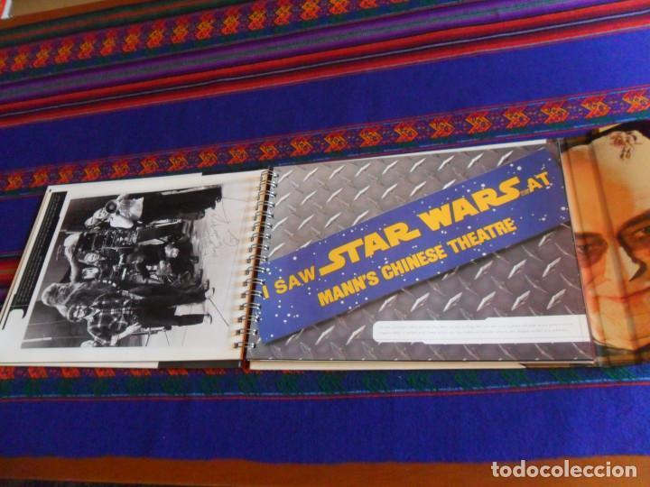 Cine: STAR WARS SCRAPBOOK THE ESSENTIAL COLLECTION. VIRGIN 1998. DE LUJO, IMPRESIONANTE. BUEN ESTADO. - Foto 4 - 167204248