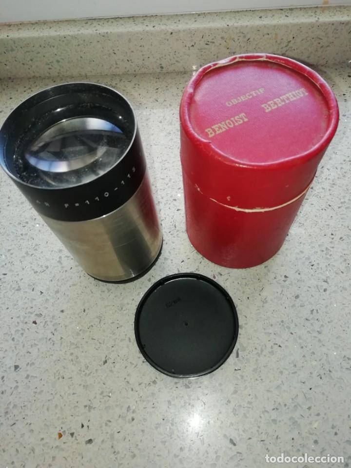 Cine: lente objetivo 35 mm optical cine proiectar F=110-115 1:2 made in italy - Foto 3 - 168362564