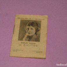 Cine: COLECCIÓN DE PELICULAS CON SHIRLEY MASON EN RICITOS - PUBLI DEPURATIVO WOKEYER. Lote 170081644
