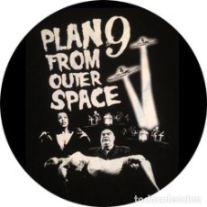 Cine: IMAN/MAGNET PLAN 9 FROM OUTER SPACE . ED WOOD VAMPIRA TOR JOHNSON B MOVIE. Lote 227776075