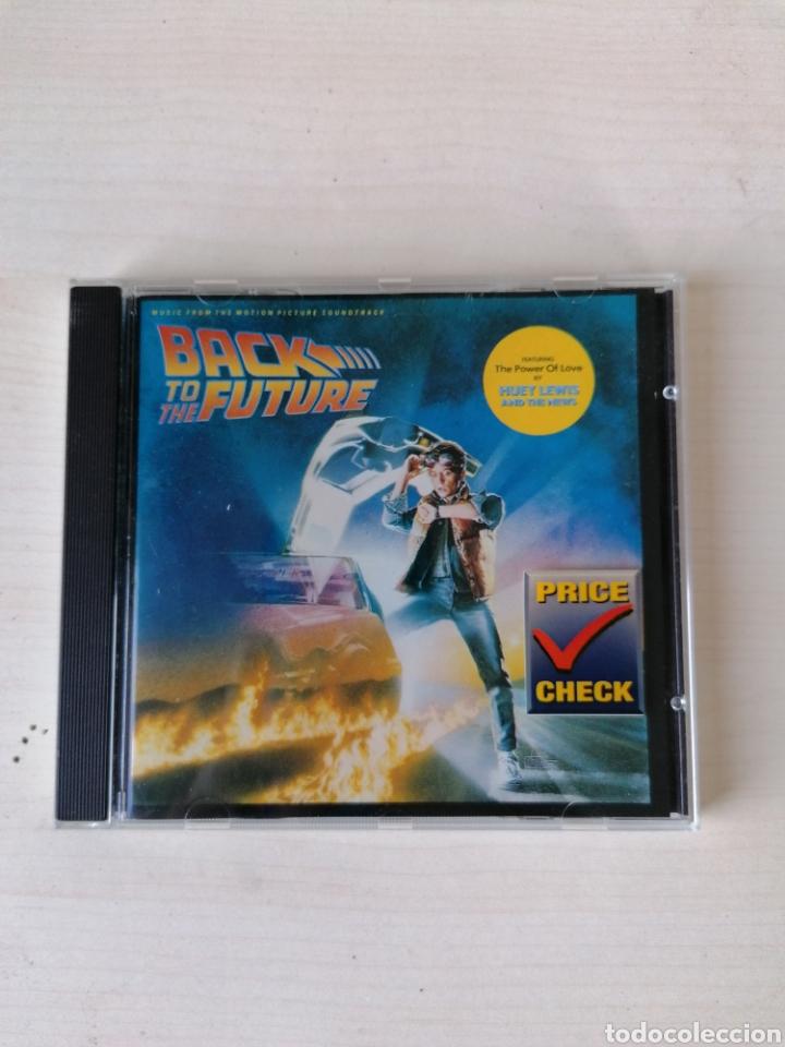 BANDA SONORA ORIGINAL REGRESO AL FUTURO CD BSO (Cine - Varios)