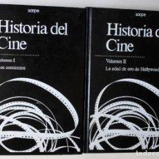 Cine: HISTORIA DEL CINE - TOMOS 1 Y 2 - SARPE 1984. Lote 170908020
