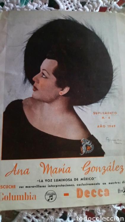 COLUMBIA 1949 ANA MARIA GONZALEZ (Cine - Varios)