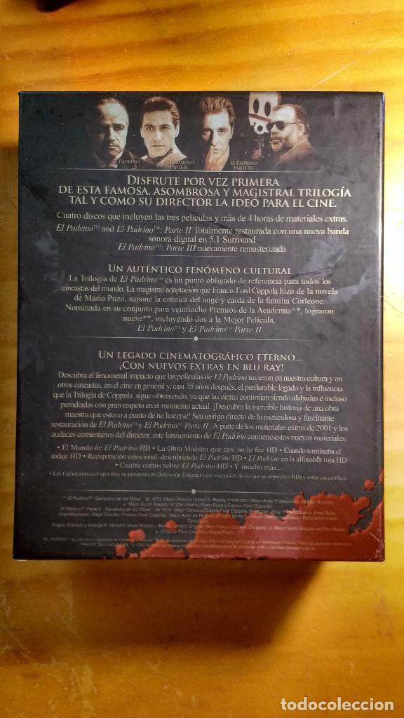 Cine: CAJA, ESTUCHES Y CARÁTULAS ORIGINALES - BLU-RAY - EL PADRINO - SAGA, la remasterización de Coppola - Foto 2 - 171092833