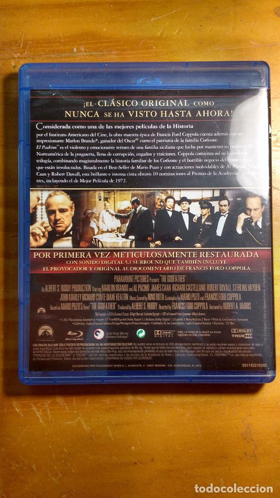 Cine: CAJA, ESTUCHES Y CARÁTULAS ORIGINALES - BLU-RAY - EL PADRINO - SAGA, la remasterización de Coppola - Foto 5 - 171092833