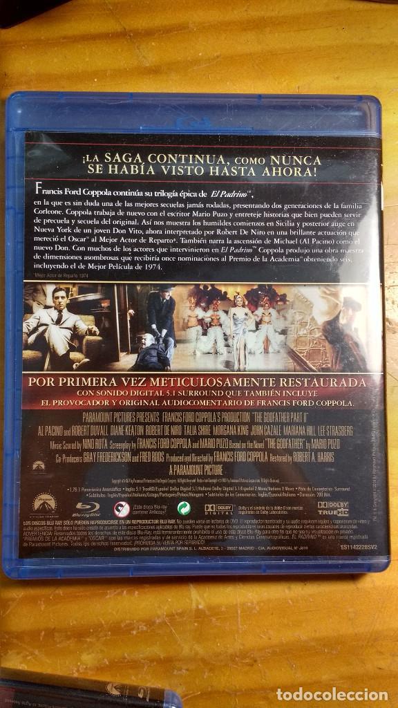 Cine: CAJA, ESTUCHES Y CARÁTULAS ORIGINALES - BLU-RAY - EL PADRINO - SAGA, la remasterización de Coppola - Foto 7 - 171092833