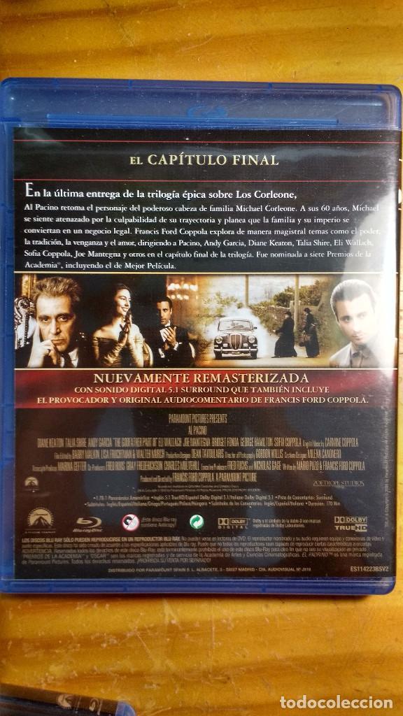 Cine: CAJA, ESTUCHES Y CARÁTULAS ORIGINALES - BLU-RAY - EL PADRINO - SAGA, la remasterización de Coppola - Foto 9 - 171092833