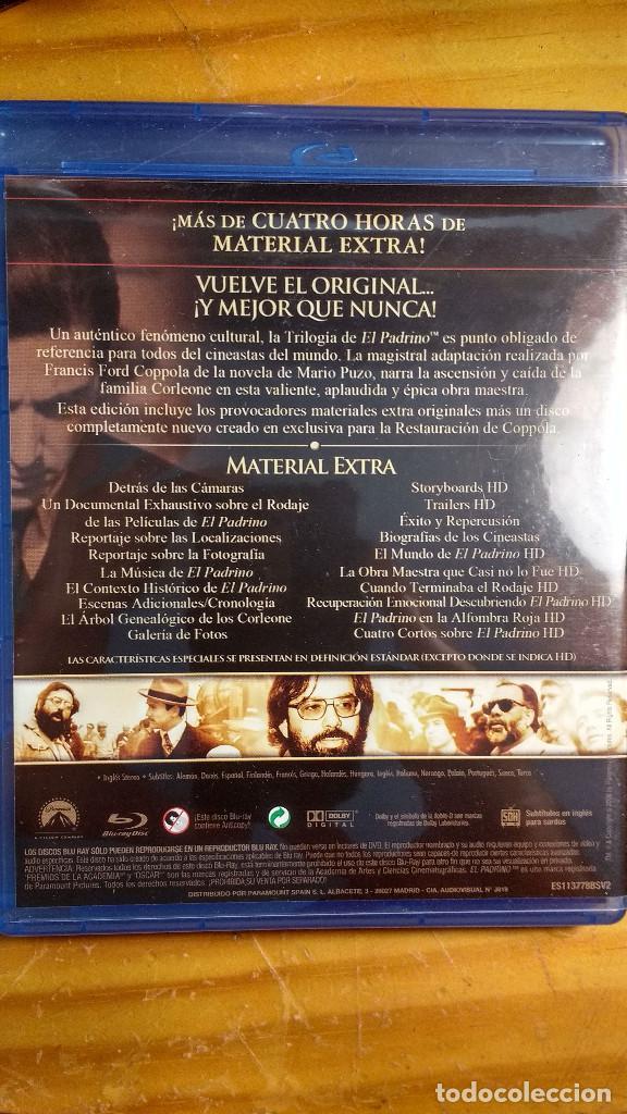 Cine: CAJA, ESTUCHES Y CARÁTULAS ORIGINALES - BLU-RAY - EL PADRINO - SAGA, la remasterización de Coppola - Foto 11 - 171092833