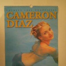 Cine: CALENDARIO CAMERON DIAZ AÑO 2000. Lote 171149282