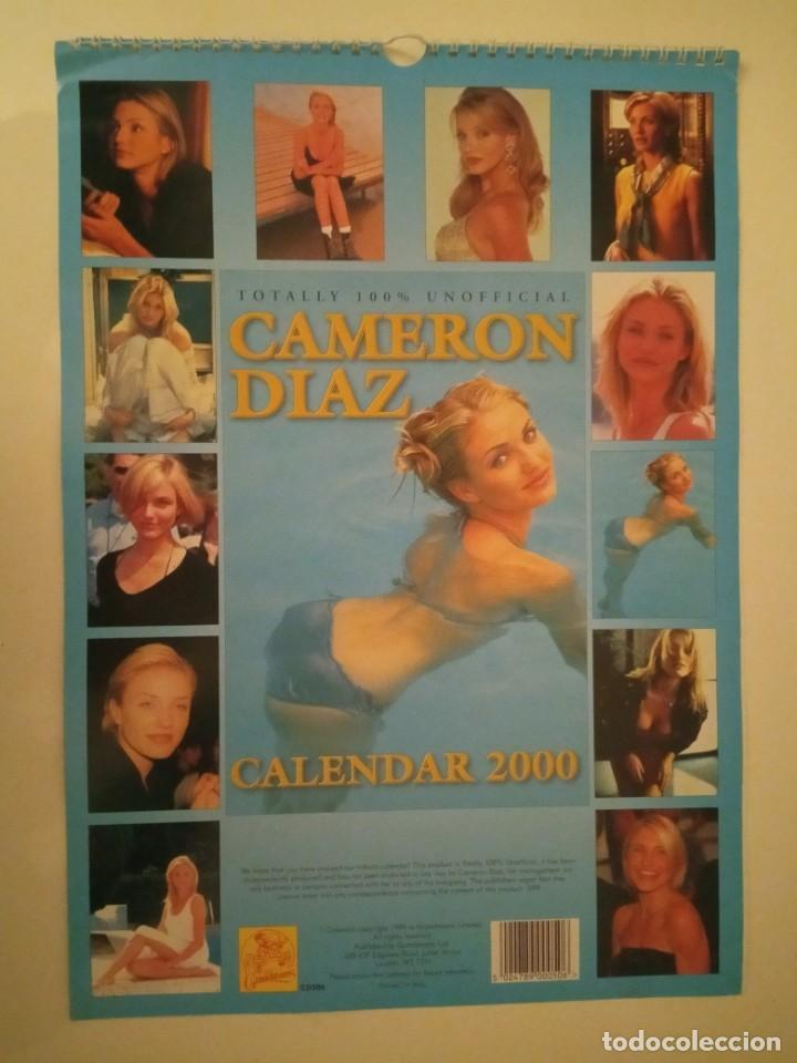Cine: Calendario Cameron Diaz año 2000 - Foto 2 - 171149282