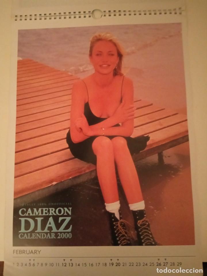 Cine: Calendario Cameron Diaz año 2000 - Foto 3 - 171149282