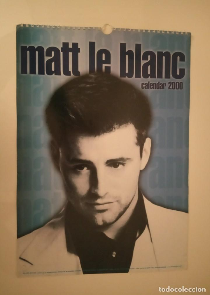 CALENDARIO MATT LE BLANC 2000 (Cine - Varios)