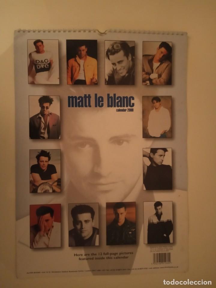 Cine: Calendario Matt Le Blanc 2000 - Foto 2 - 171149359