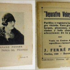 Cine: COLECCIÓN DE PELICULAS LOS NIÑOS DEL HOSPICIO- PUBLICIDAD DEPURATIVO WOKEYER . Lote 171193684