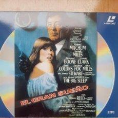 Cine: LASER DISC - EL GRAN SUEÑO. Lote 171536157