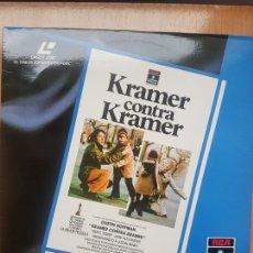Cine: LASER DISC - KRAMER CONTRA KRAMER. Lote 171536460