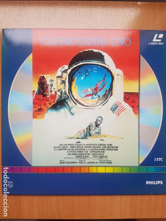 LASER DISC - CAPRICORNIO UNO (Cine - Varios)