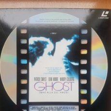 Cine: LASER DISC - GHOST - MAS ALLA DEL AMOR. Lote 171536617