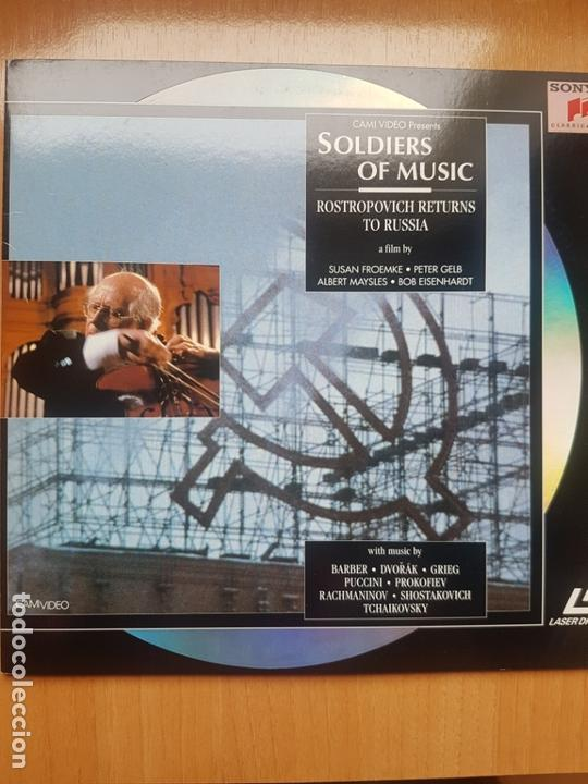 Cine: LASER DISC - SOLDIERS OF MUSIC - Foto 1 - 171536832