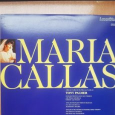 Cine: LASER DISC - MARIA CALLAS - A FILM BY TONY PALMER. Lote 171536944