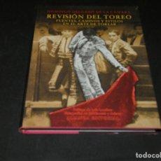 Cine: LIBRO DOMINGO DELGADO DE LA CAMARA REVISION DEL TOREO FUENTES CAMINOS Y ESITLOS PESA 960 GR. Lote 171652770