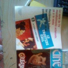 Cine: GREASE SPANISH 1978 BOOKLET. OLIVIA NEWTON JOHN. Lote 172464409
