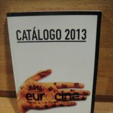 Cine: FESTIVAL DE CINE EUROPEO EN COLOMBIA - CATALOGO 2013. Lote 173893815