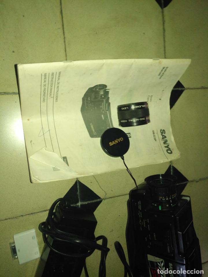 Cine: funda de camara sanyo vm-d3p - regalo todo lo que hay dentro camara objetivo instrucciones ,,, leer - Foto 4 - 173934183