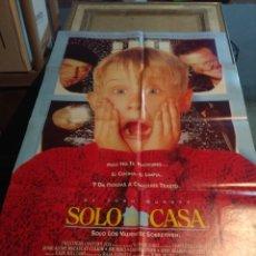 Cine: POSTER CINE : SOLO EN CASA. Lote 269296213