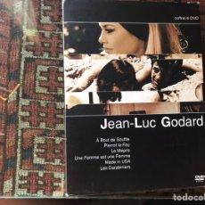 Cine: JEAN-LUC GODARD. COFFRETT 6 DVD'S.. Lote 175517670