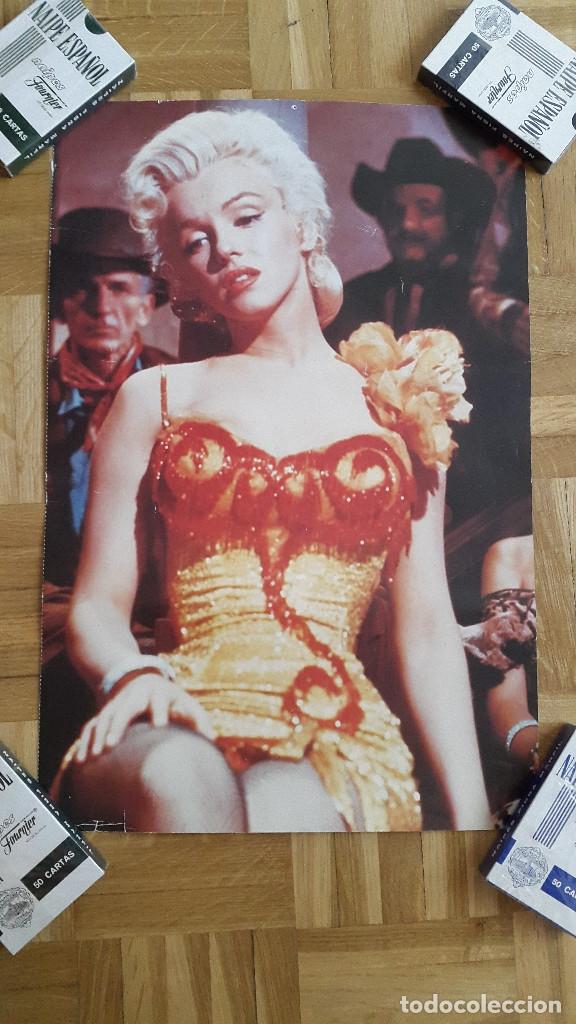 Cine: LOTE 6 POSTERS MARILYN MONROE - VER FOTOS ADICIONALES - Foto 9 - 175962909