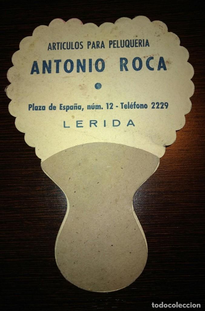 Cine: ABANICO PAY PAY KIRK DOUGLAS. PUBLICIDAD ANTONIO ROCA LLEIDA. - Foto 2 - 176998199