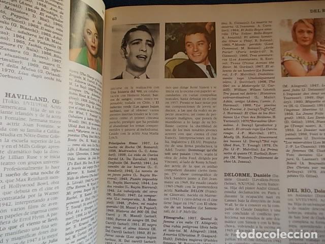 Cine: DICCIONARIO DE ACTORES BURU LAN S. A. - Foto 2 - 177561024