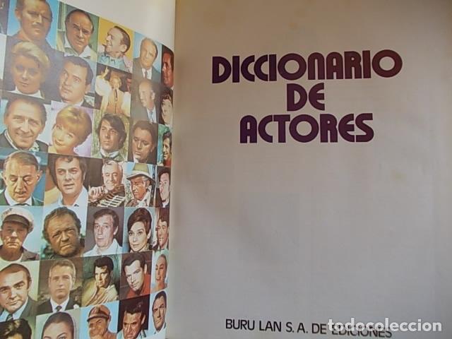 DICCIONARIO DE ACTORES BURU LAN S. A. (Cine - Varios)