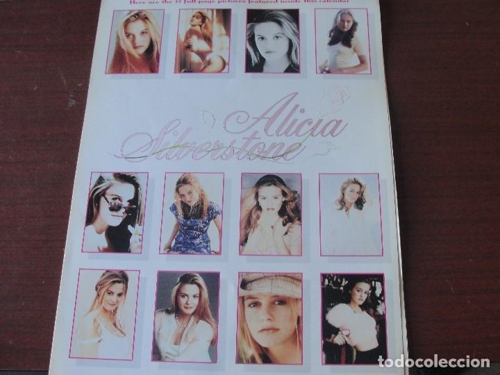 Cine: calendario gigante - ALICIA SILVERSTONE / 1997 - SIN USAR - STOCK DE QUIOSCO - ENVIO GRATIS - Foto 2 - 178363363