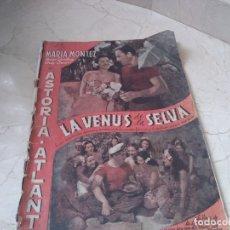 Cine: ANTIGUA REVISTA CINEMATOGRAFICA DE 1945 IMAGENES. Lote 179008428