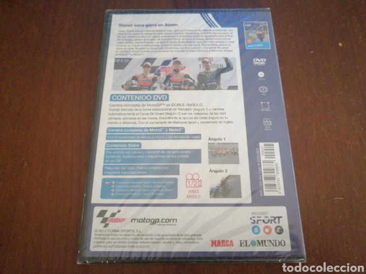 Cine: DVD MOTO GP 2012 IVECO TT ASSEN EL MUNDO 7 PRECINTADO MOTOGP - Foto 2 - 179090013