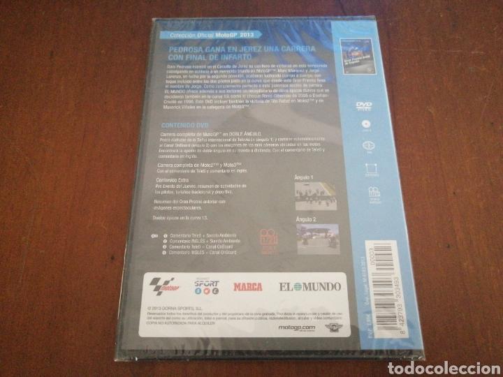 Cine: DVD MOTO GP 2013 GRAN PREMIO BWIN DE ESPAÑA EL MUNDO 3 PRECINTADO MOTOGP - Foto 2 - 179090532