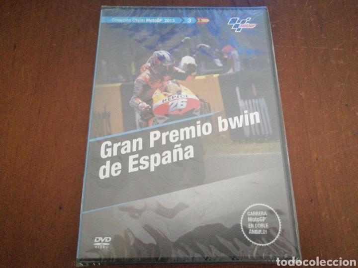 DVD MOTO GP 2013 GRAN PREMIO BWIN DE ESPAÑA EL MUNDO 3 PRECINTADO MOTOGP (Cine - Varios)
