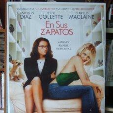 Cine: POSTER CINE: EN SUS ZAPATOS - CAMERON DIAZ, TONI COLLETTE. Lote 179220438