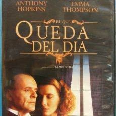 Cine: DVD. EL QUE QUEDA DEL DIA. ANTHONY HOPKINS Y EMMA THOMPSON. Lote 194114235