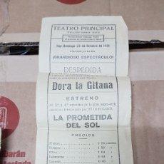 Cine: PROGRAMA TEATRO PRINCIPAL 1921. Lote 179964230
