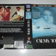 Cinéma: SOLO CARATULA ~ CALMA TOTAL ~ . Lote 180331613